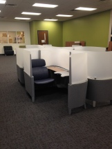 Partitions allow for individual workspace