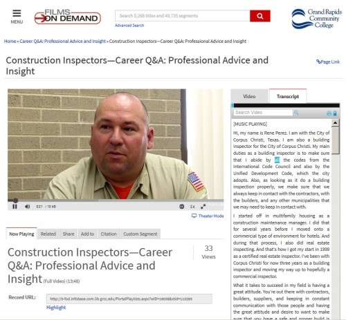 Construction Inspector graphic
