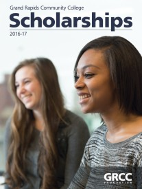 GRCC Foundations Scholarships Book Cover