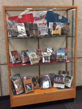 Play Ball Book Display