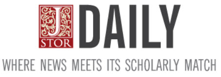 JSTOR Daily masthead
