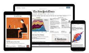 New York TImes Online platforms