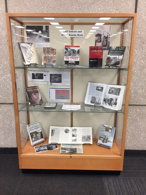 1967 Race Riots Book Display
