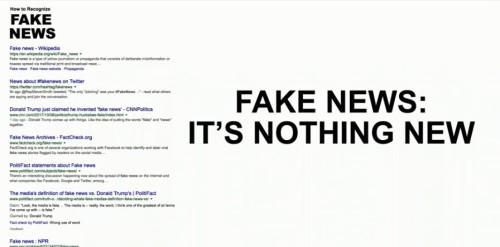 Fake News graphic