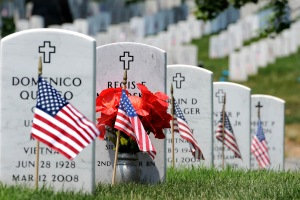Memorial Day, May 30, 2011, Arlington National Cemetery.