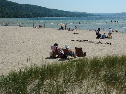 Sand Point Beach - National Park Service photo