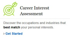Ferguson's Career Interest Assessment graohic
