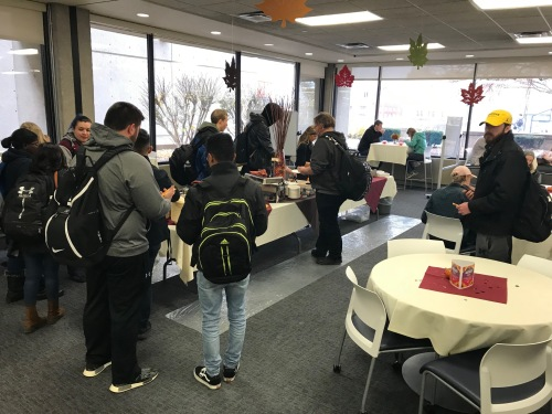 2018 LC Open House food line