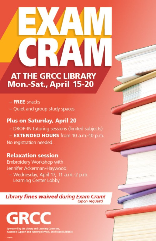 Exam Cram April 2019 Poster