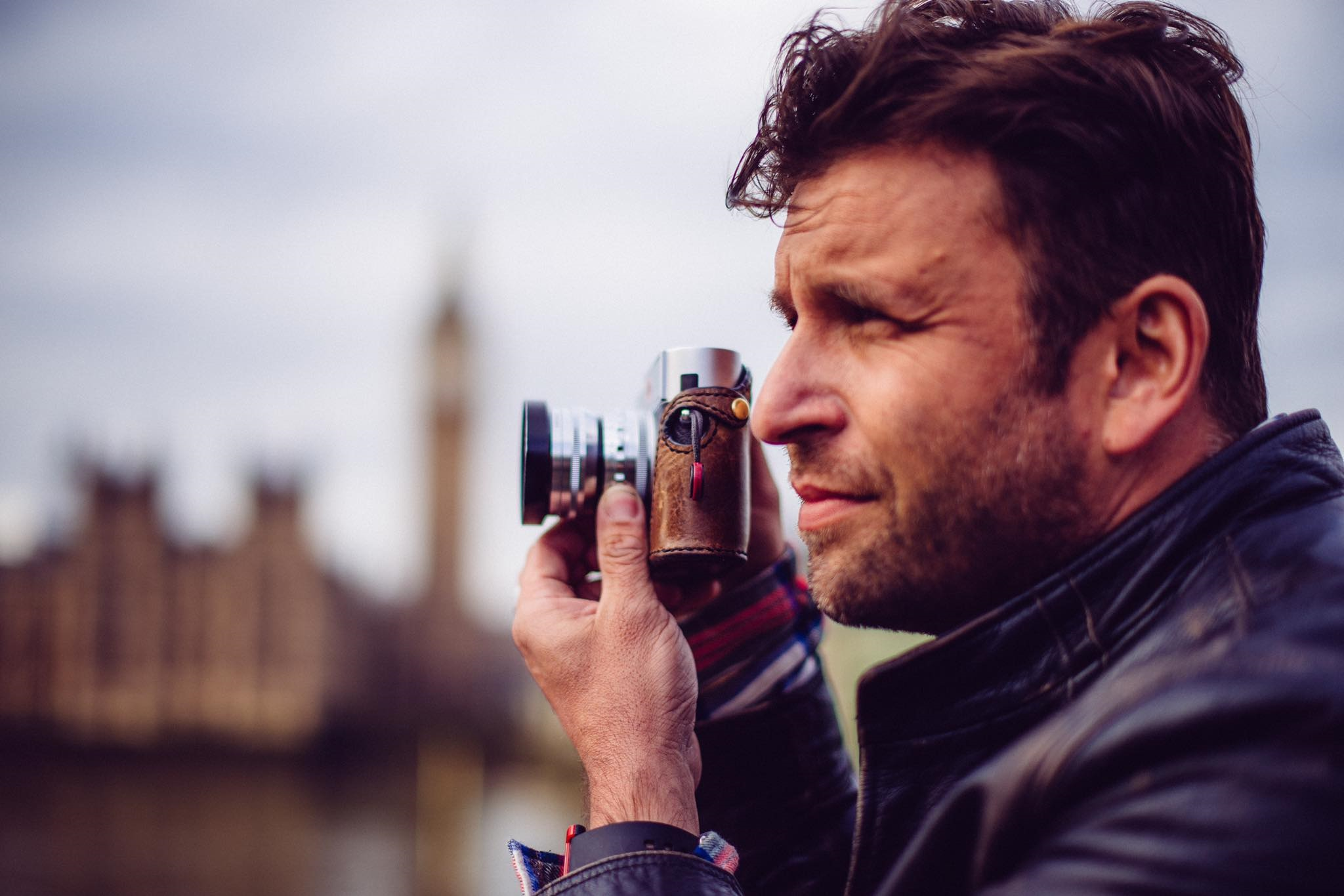 Philip Bloom with Camera
