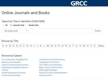eJournal Portal