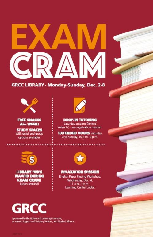December 2019 Exam Cram poster