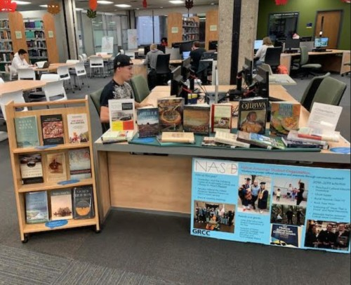 NASO book display