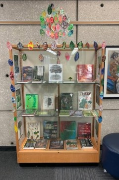 Trees book display