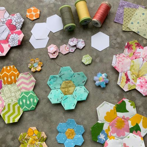 Quilt pieces 1