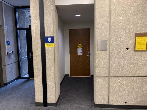 All Gender handicapped access restroom
