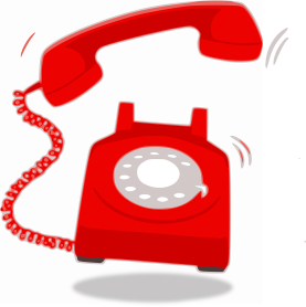 Red phone ringing