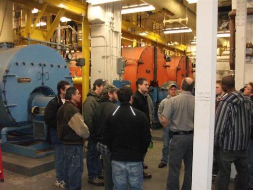 GRCC boiler plant