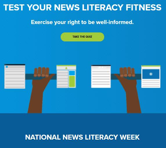 National News Literacy Week graphic