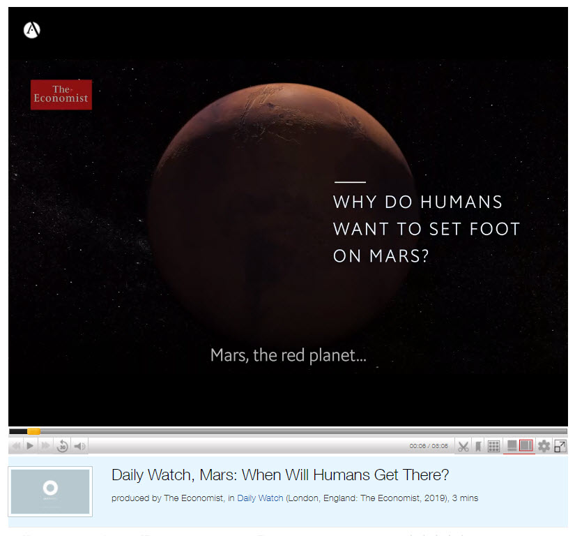 Why Do Humans streaming video title screen