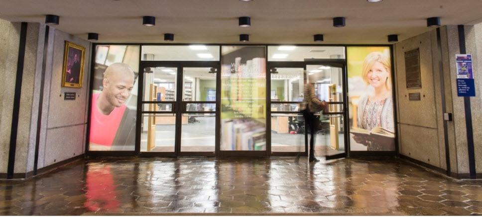 Library Lobby Entrance