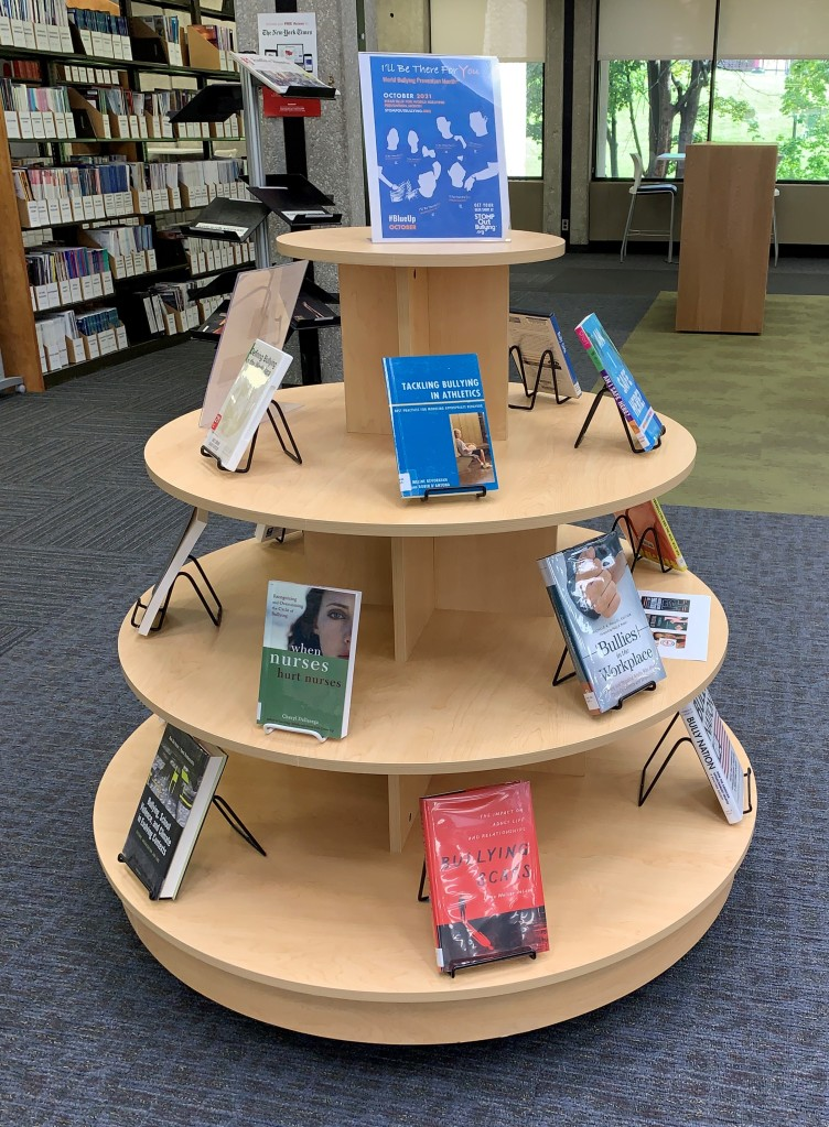 Bullying Prevention Month display