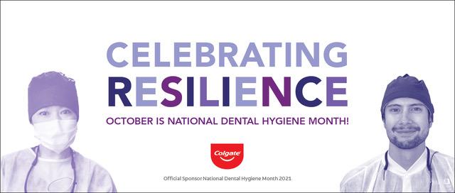 National Dental Hygienist Month 2021 poster